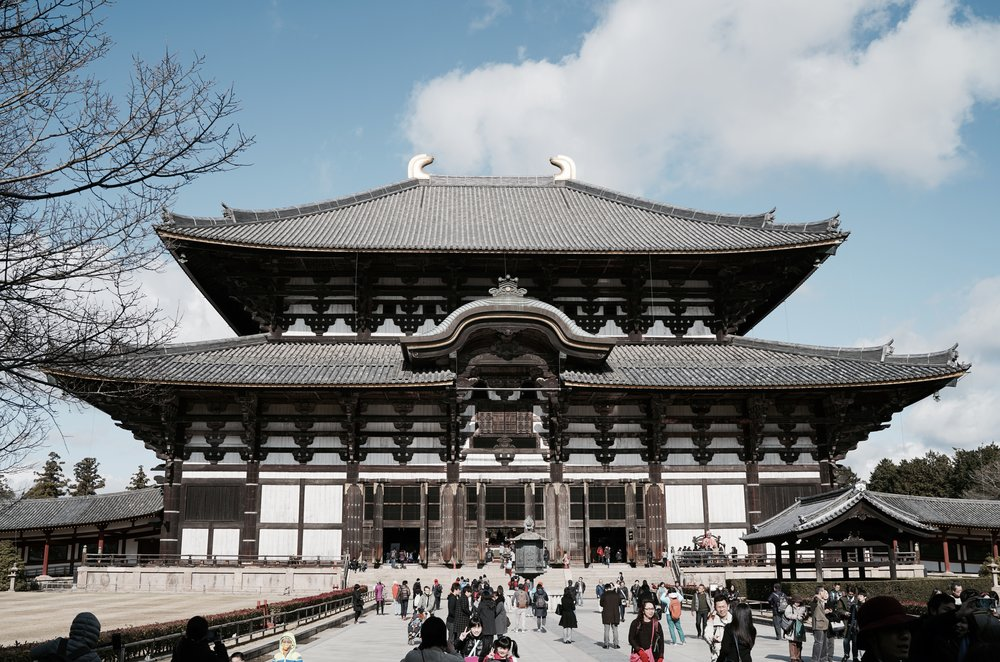 Todai-ji Temple, Nara.
