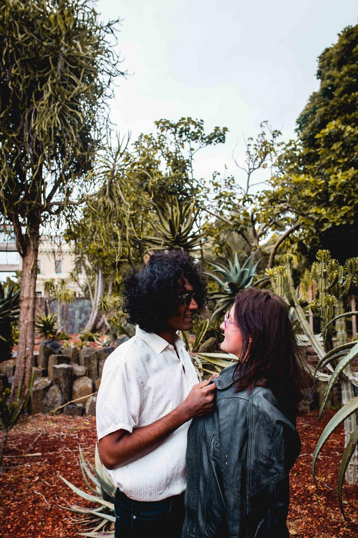 Botanical Gardens Engagement -