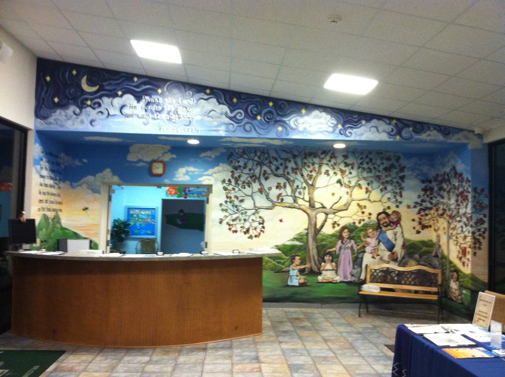 Church Lobby - Children's Entrance