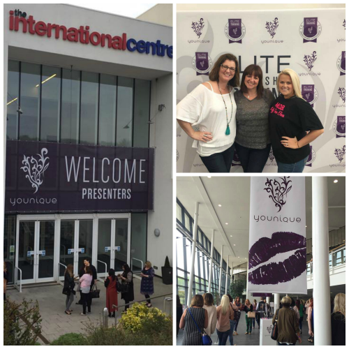 3 Amazing ladies!Shari Brown (USA), Louise White (UK) and Bri Richardson (USA) at the International Convention Centre in Telford.