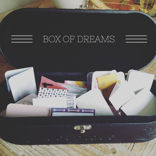 A box full of dreams, all yours if you want.......