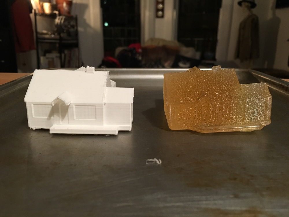 3D Print + Sugar Cast