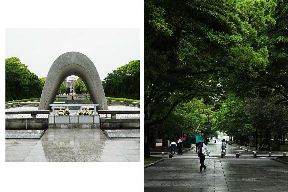 Both: Hiroshima Peace Memorial Park