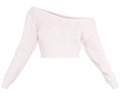 Off-Shoulder Knit