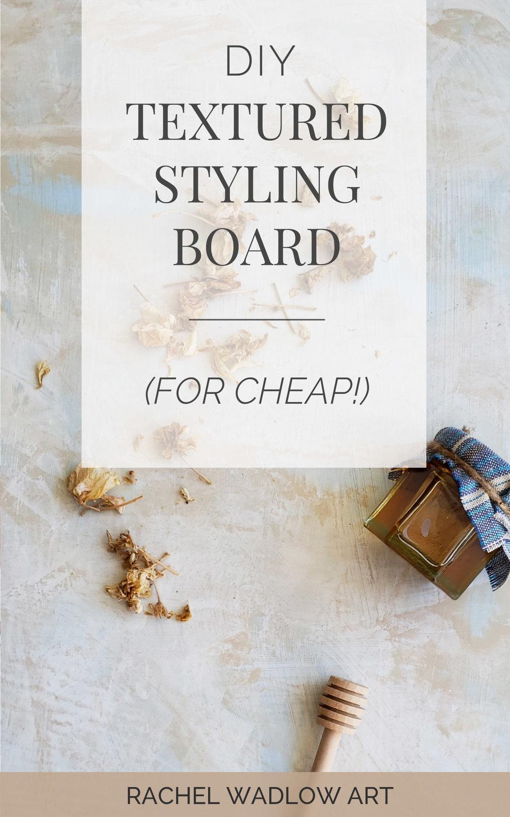 diy styling board