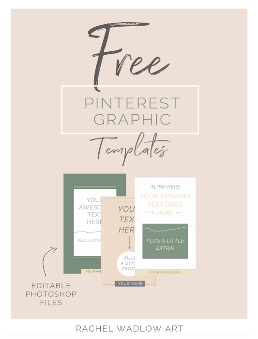free pinterest graphic templates