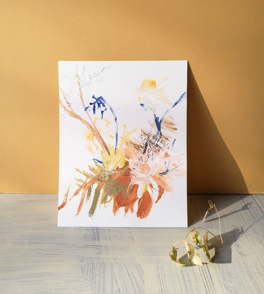 Learn my secrets for creating a beautiful, abstract, floral inspired painting. - This is all about using my tried and true techniques to help you create a piece of art that is full of life - and uniquely yours.