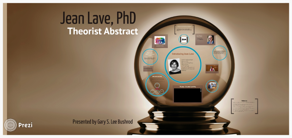 Theorist Abstract, using Prezi as the presentation platform