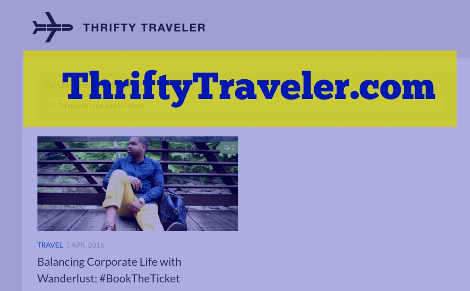 """April 5, 2016 - """"Balancing Corporate Life with Wanderlust: #BookTheTicket"""""""