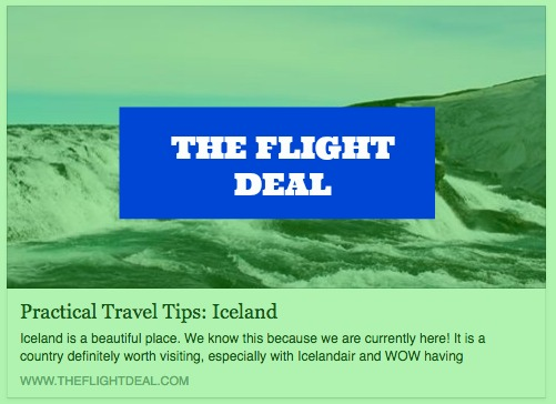 "April 20, 2016 - ""Practical Travel Tips: Iceland"""