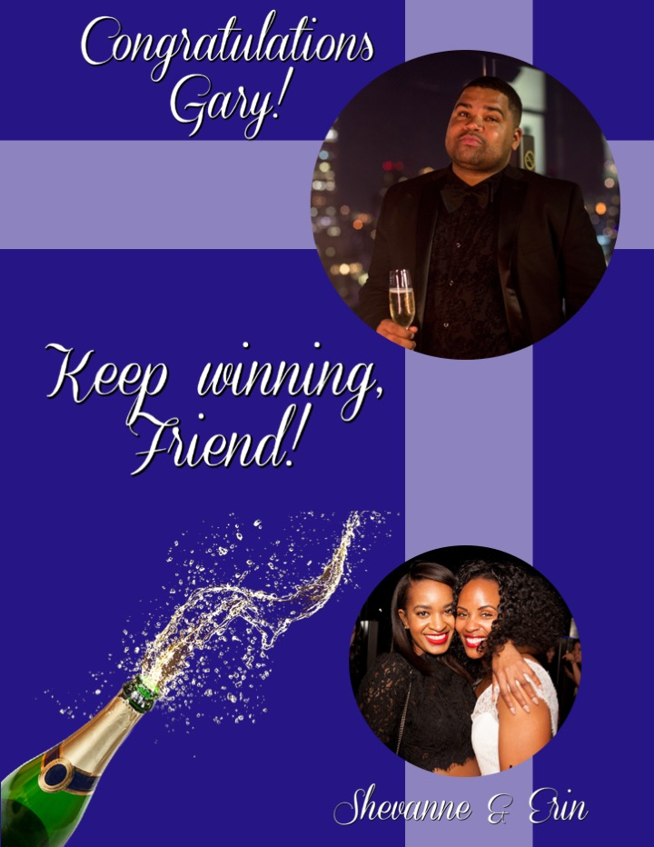 From Shevanne Robinson and Erin Person