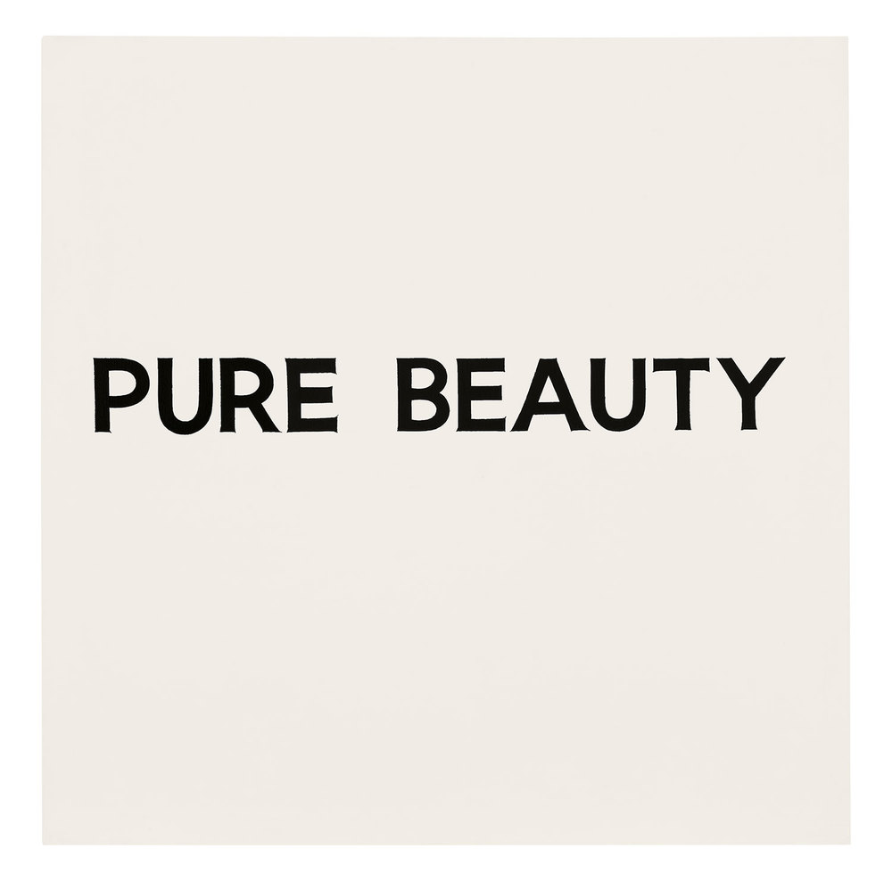 Pure Beauty,  1966-68  © John Baldessari