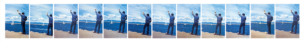 Goodbye to Boats (Sailing Out),  1972-73  © John Baldessari