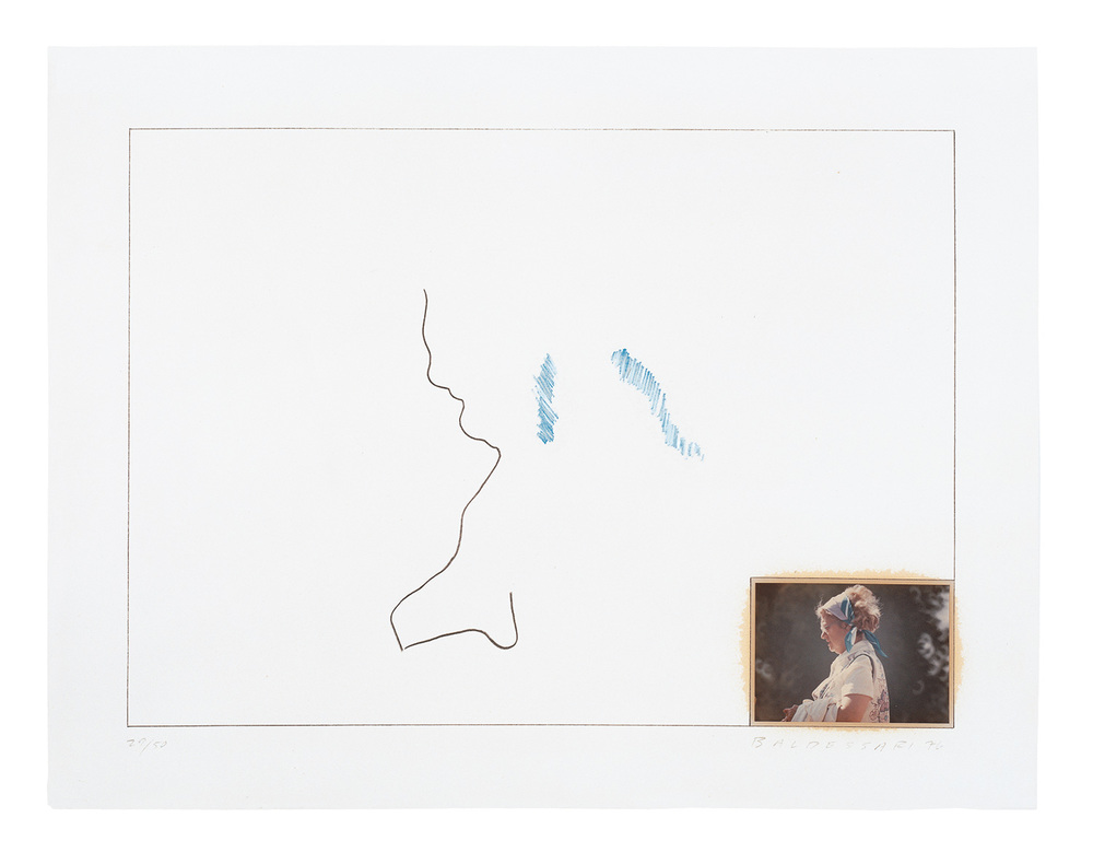 Raw Prints (Blue) , 1976 Publisher: Cirrus Editions, Edition of 50.  © John Baldessari