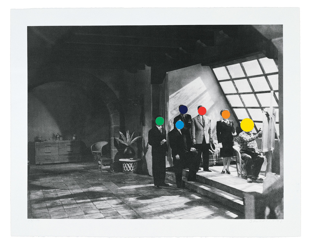 Studio , 1988 Publisher: ART/LA 88; Cirrus Editions, Edition of 150.  © John Baldessari