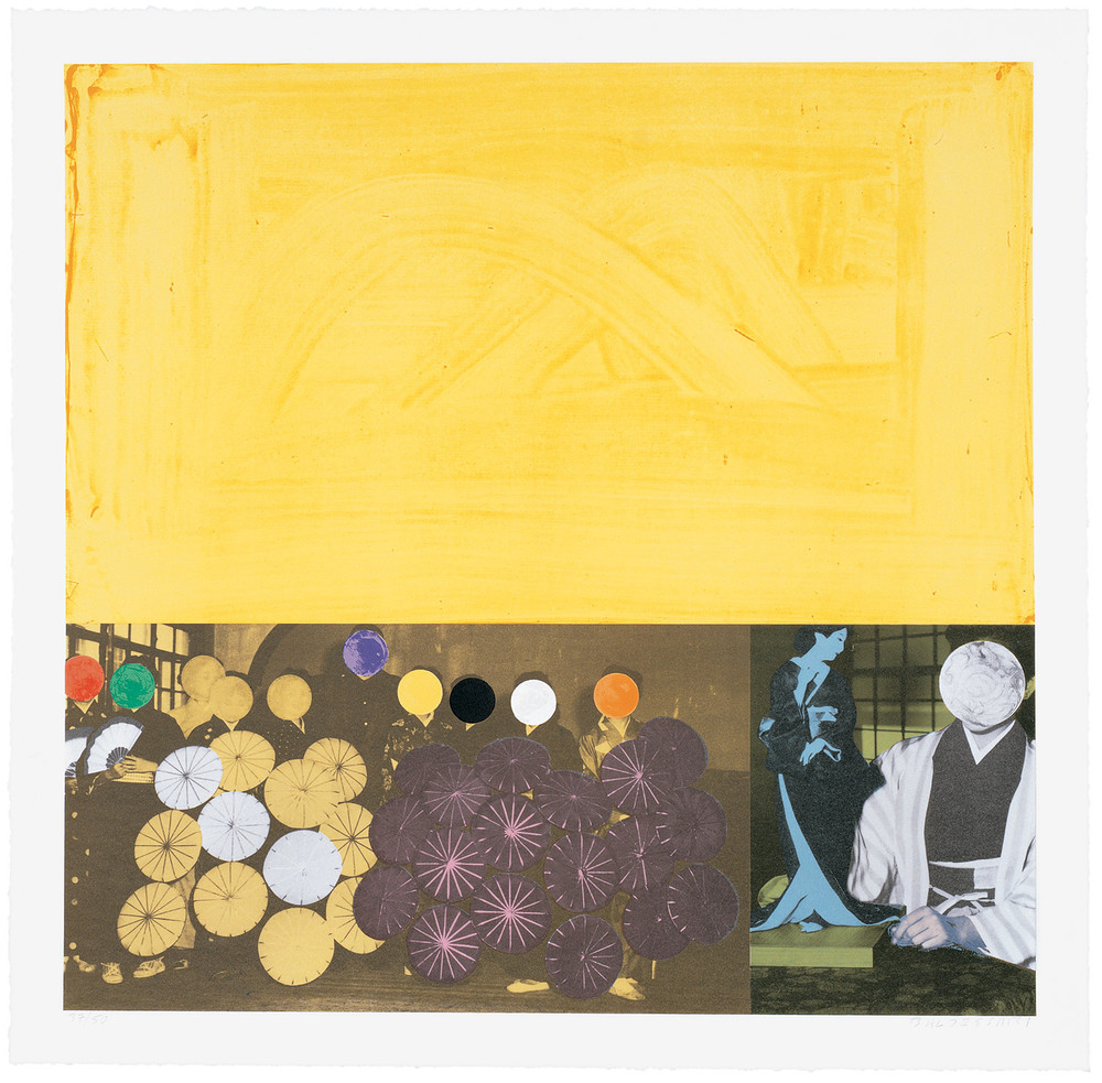 Cliché: Japanese (Yellow) , 1995 Publisher: Cirrus Editions, Edition of 50.  © John Baldessari