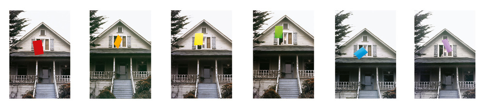 Floating: Color,  1972  © John Baldessari