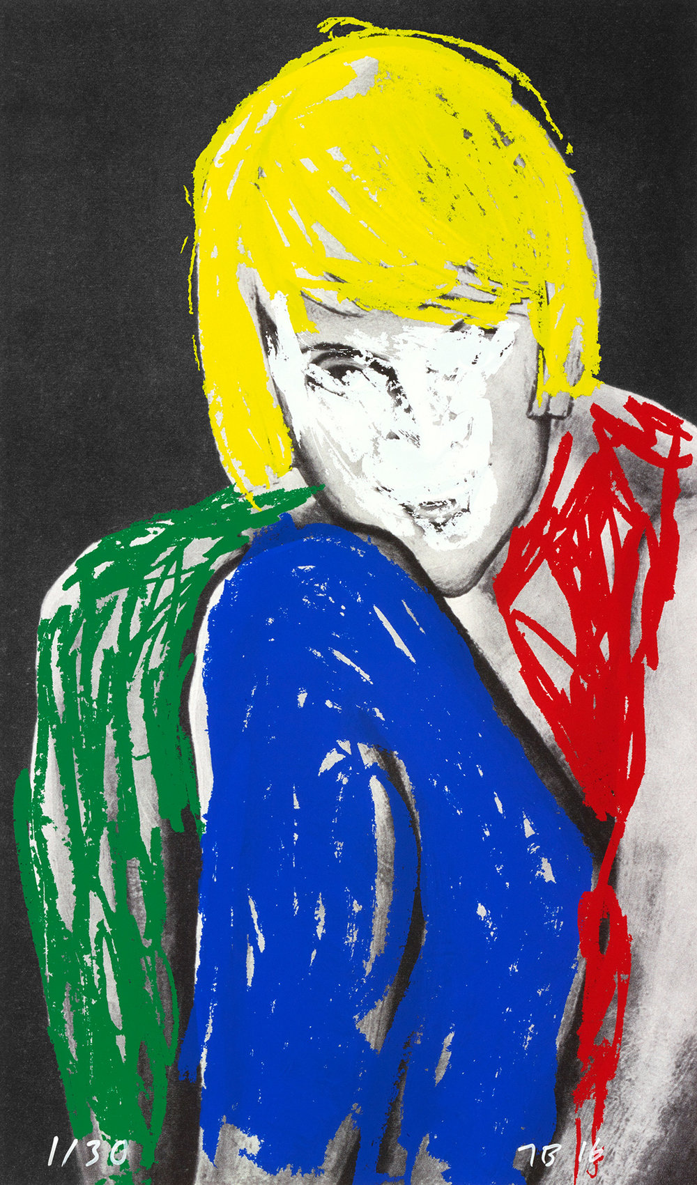 Marilyn , 2016 Publisher: Multi Editions, Edition of 30.  © John Baldessari