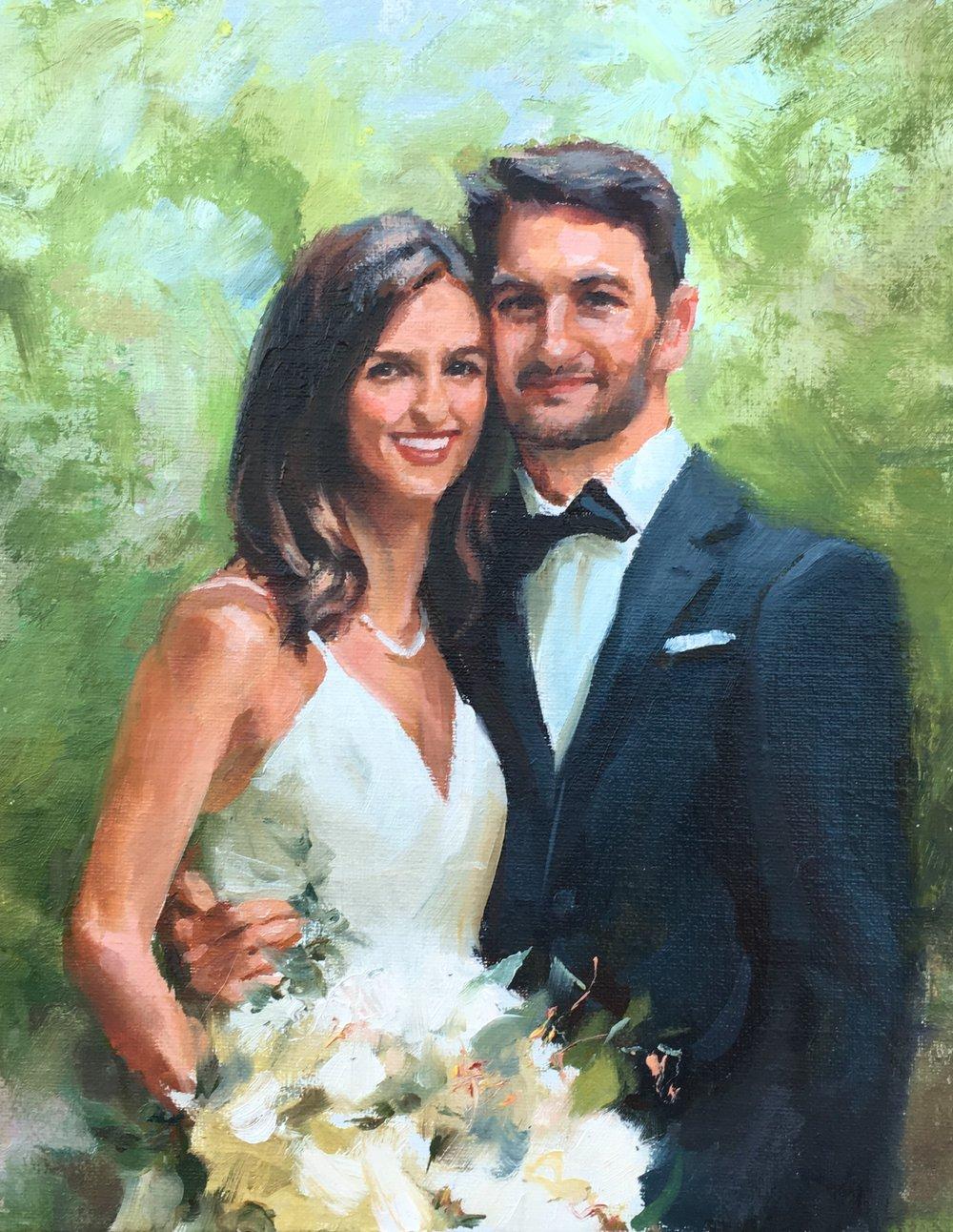 Johns daughters wedding painting.jpg