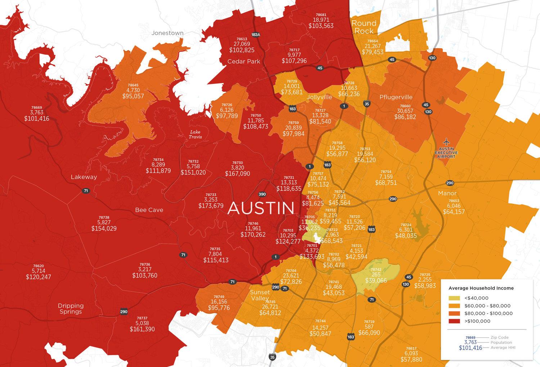 Demographics By Zip Code Map.Demographics Cartifact