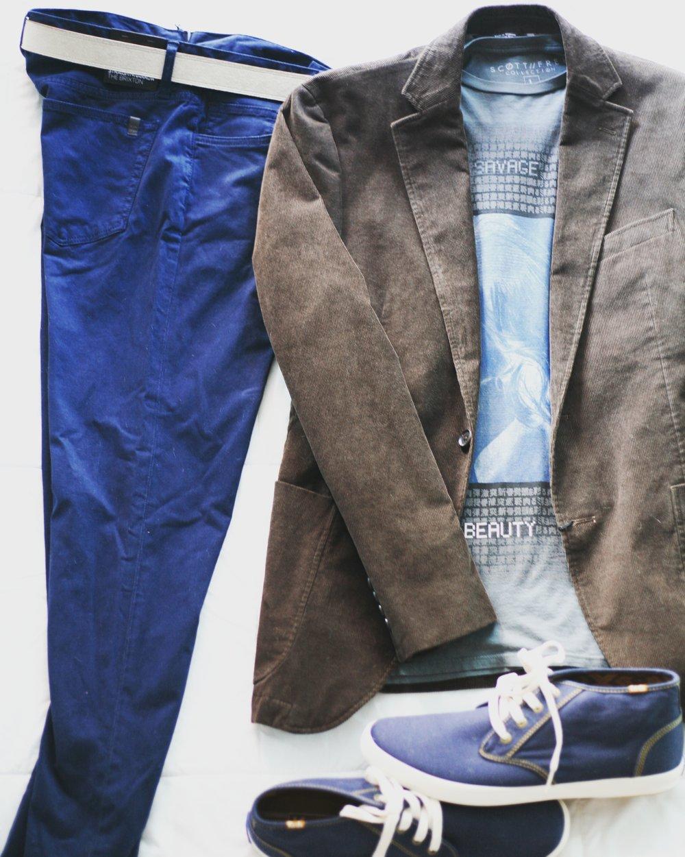 Suits & Sneaks Gentleman Casual Monday Office Wear