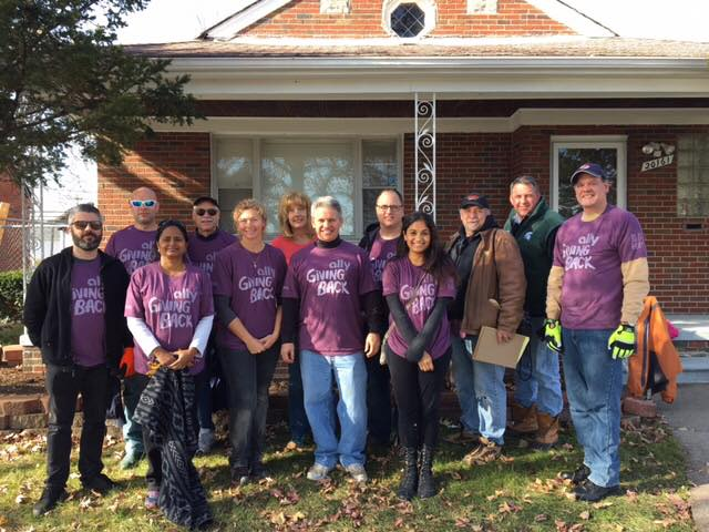 Volunteer groups from across southeast Michigan partnered with us to restore homes and revitalize the community.