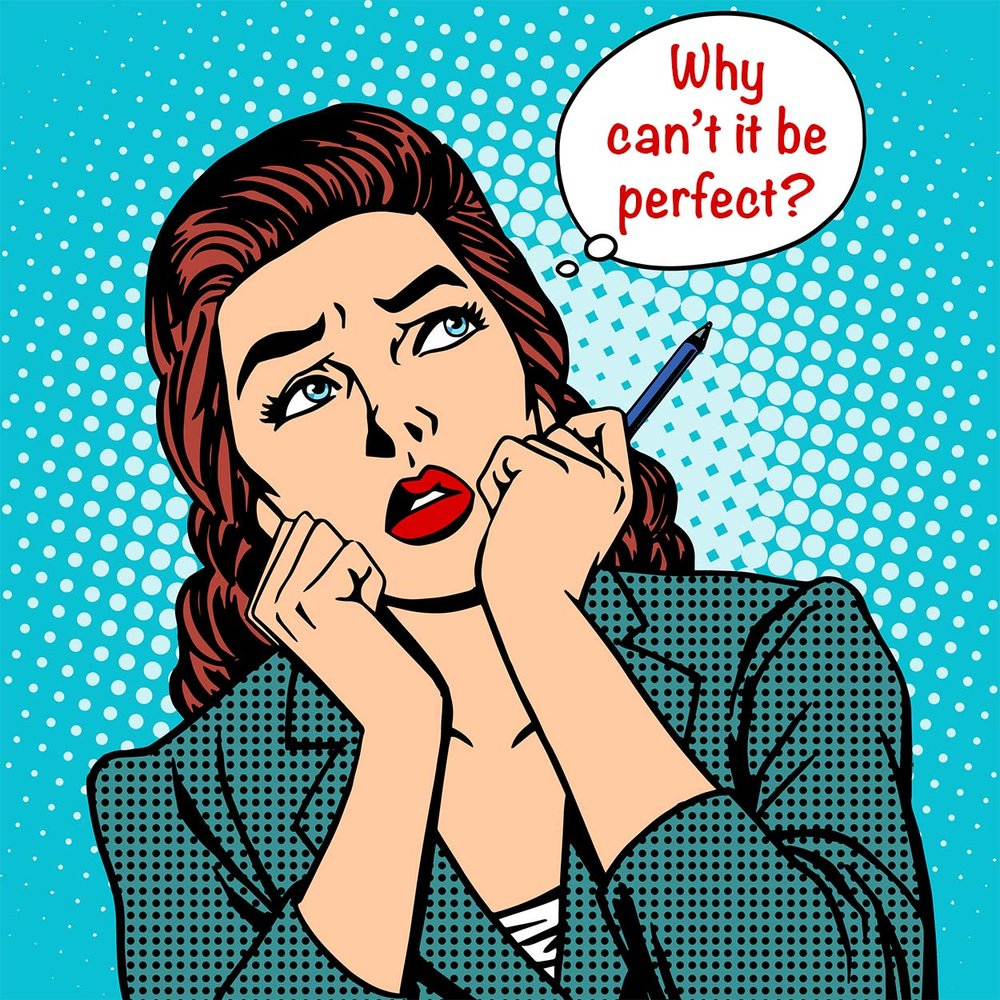 KerryAThompson.com Blog: Your website will never be perfect, but that's perfectly okay