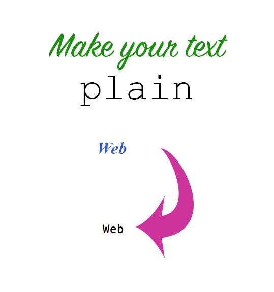 KerryAThompson.com Blog: Start with plain text for easier website updates