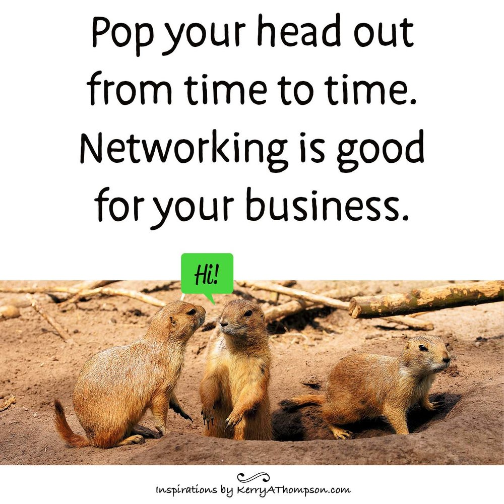 Kerry A. Thompson blog - Networking is good for your business.
