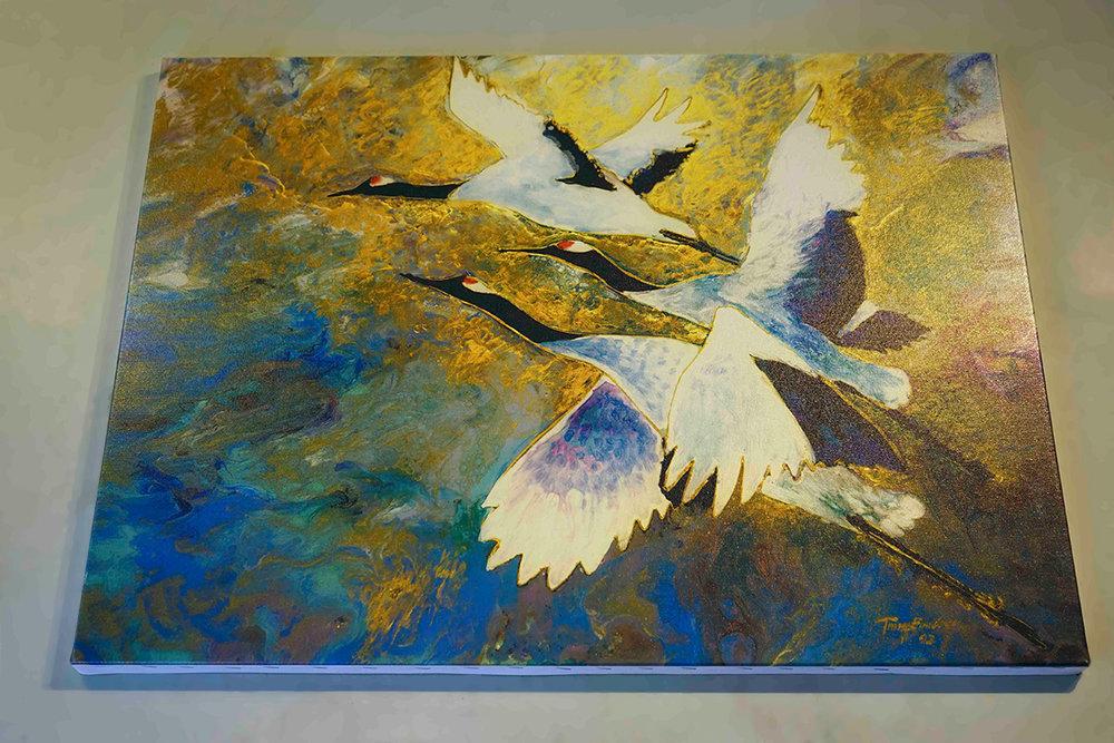 Canvas 22 x30 Golden Sky II - Product Sample.jpg