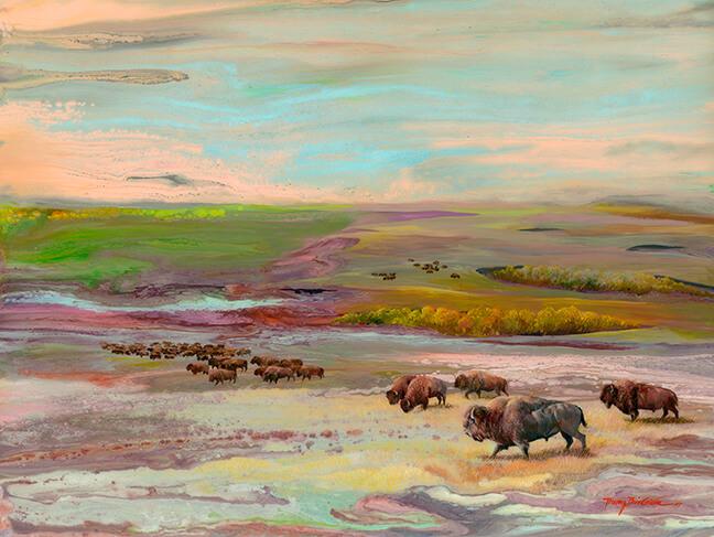forgotten land buffalo
