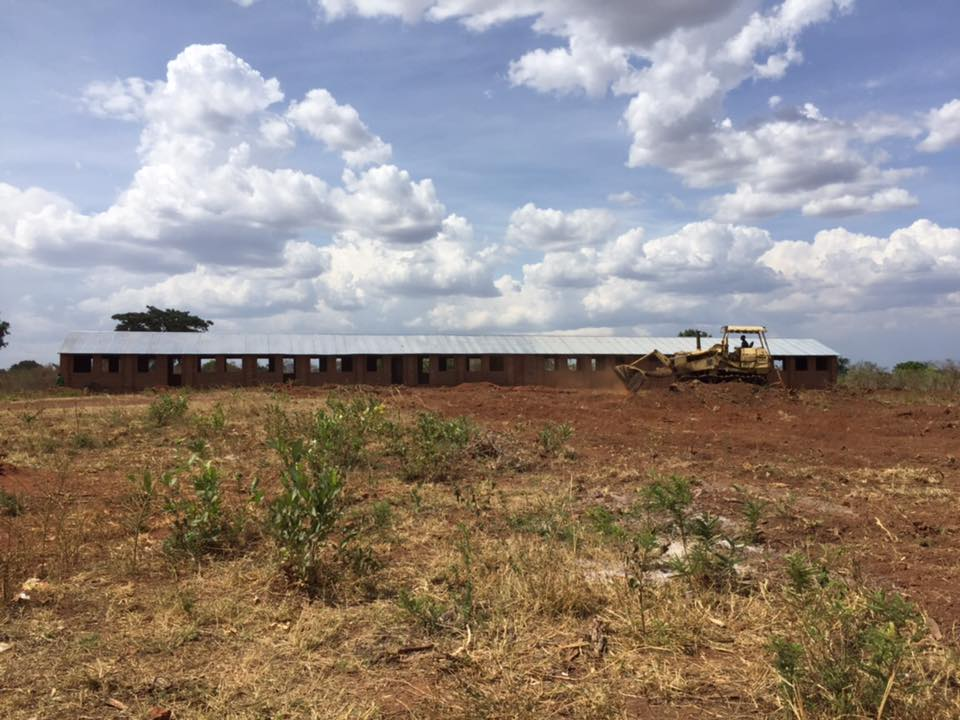 Kitgum-Matidi school ground being worked today 17-3-2016. It's very hot here, no rain yet but we hope it will come soon! $100 NZ to have this work done.