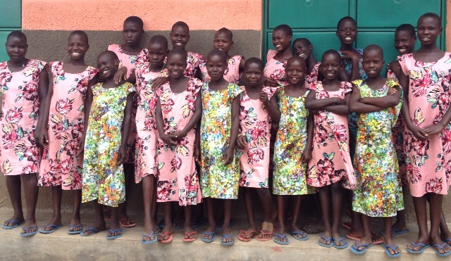 The girls of Project Moroto