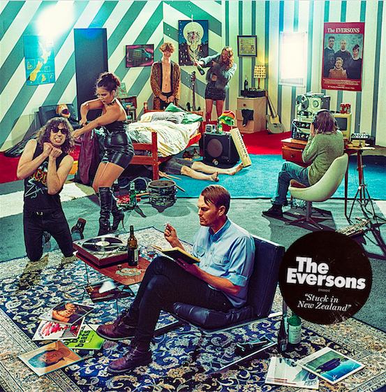 The Eversons - Stuck In New Zealand (Lil Chief Records) 1. Give Me More 2. Good At Making Enemies 3. Baby You're A Jerk 4. Generation Wimp 5. Tease 6. I Found God 7. Emily 8. Hippie Girl 9. It's A Trap 10. Don't Worry About A Thing 11. Stuck In New Zealand 12. London City Song