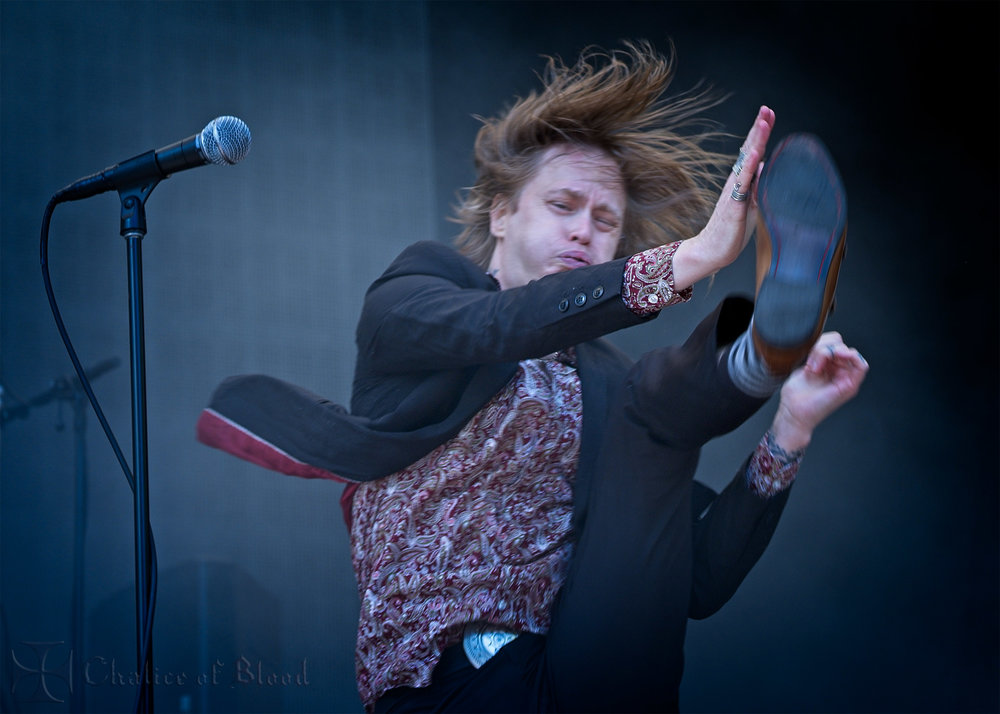 Refused performing at Laneway - Photos by Mark Derricutt