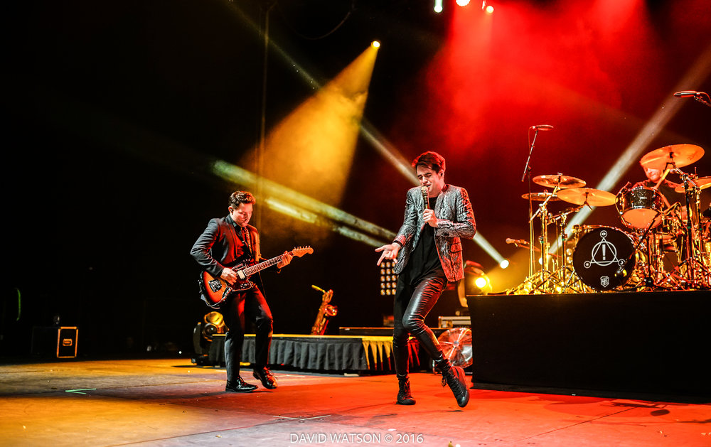 Panic! At The Disco performing at the Vector Arena (now Spark Arena) February 2nd, 2017 - Photos by David Watson