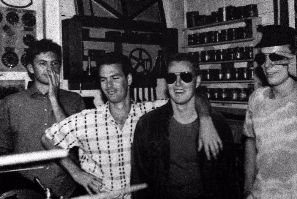 L-R Dave Yetton, Gary Sullivan, Dave Mulcahy, Jim Laing