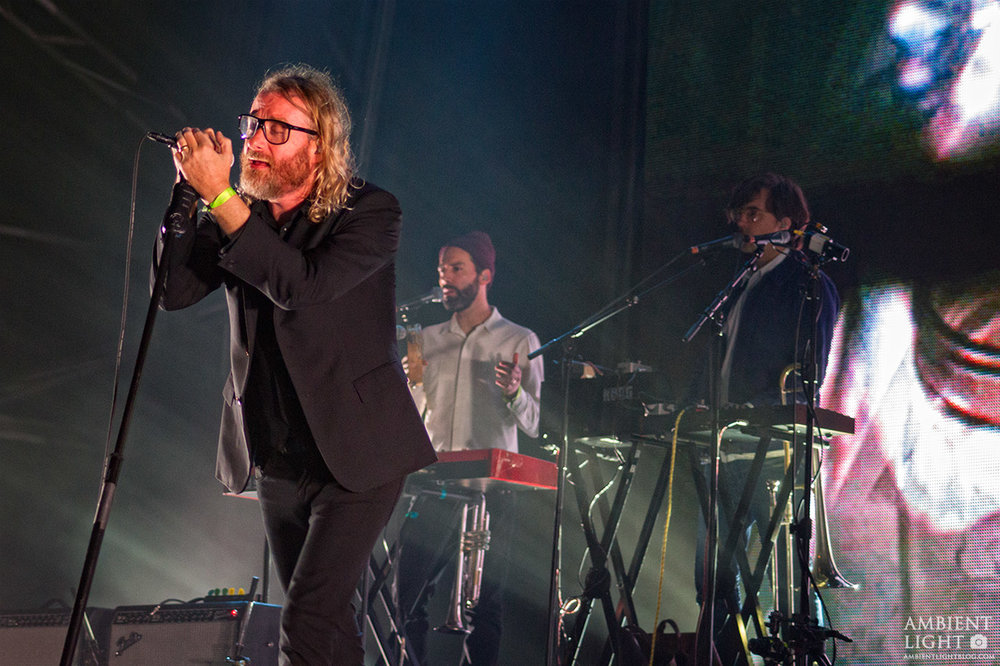 The National performing at Auckland City Limits - March 19th, 2016 - Western Springs Photo by Doug Peters