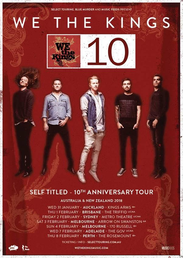 We The Kings NZ : OZ tour.jpg