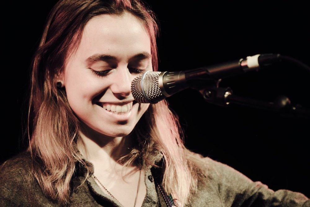 Julien Baker performing at The Tuning Fork, Auckland, 23 July 2017 -Photos by Trevor Villers