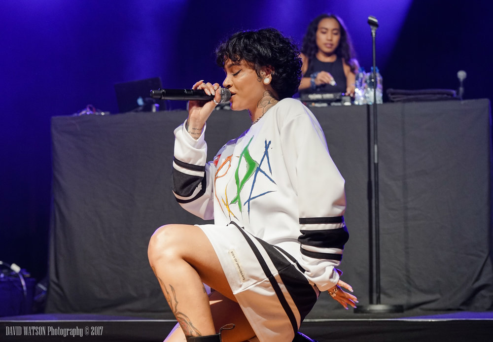 Kehlani performing at the Logan Campbel Centre in Aucklnd - Wednesday August 23rd, 2017 - Photo by David Watson