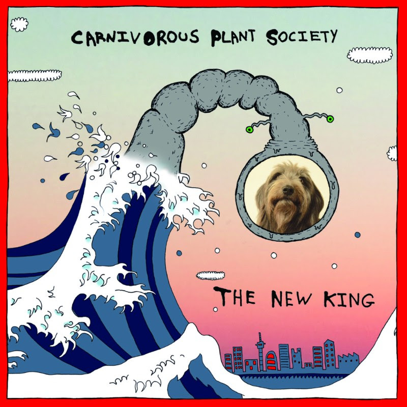 The New King tracklisting -  Carp in a Pond  Car Dance  Swamp Bossa  Dry Spell  The New King  The Fashionable Bee  Don't Go Outside  Spaceship Romance  Best Friends  Lovers in an Apocalypse  It Has One Eye  Journey of the Sacred Crystal  The Goat and the Pussycat  Temple Kiss