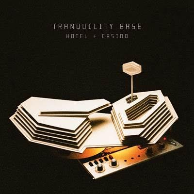 Tranquility Base Hotel & Casino Tracklisting   Star Treatment  One Point Perspective  American Sports  Tranquility Base Hotel & Casino  Golden Trunks  Four Out Of Five  The World's First Ever Monster Truck Front Flip  Science Fiction  She Looks Like Fun  Batphone  The Ultracheese