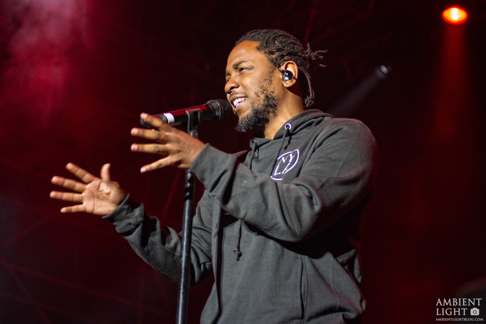 Kendrick Lamar performing at Auckland City Limits at Western Springs Stadium, Auckland - Saturday March 19th, 2018 - Photos by Doug Peters