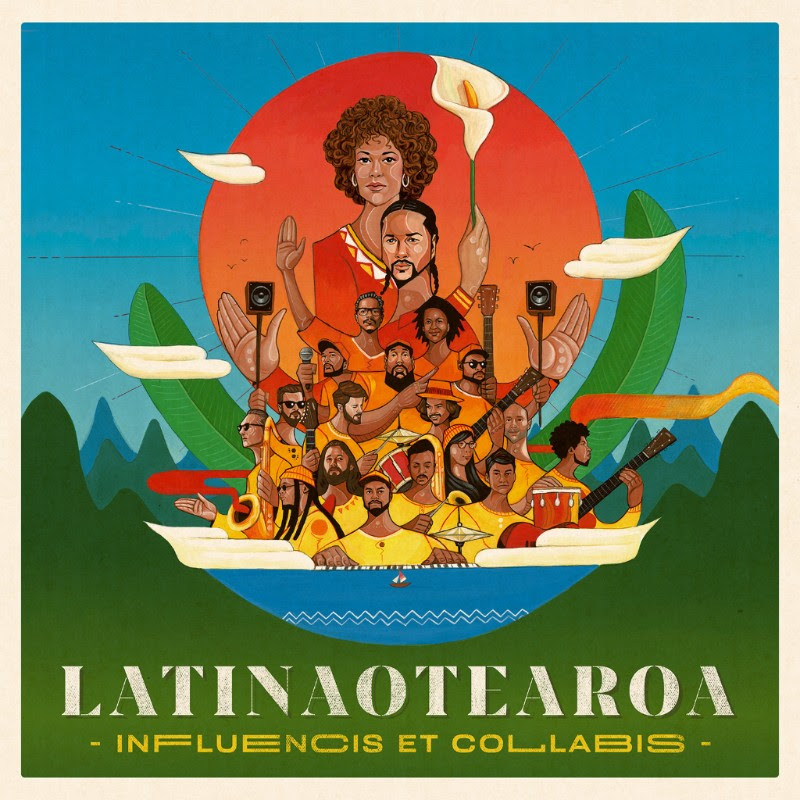 LATINAOTEAROA  INFLUENCIS ET COLLABIS   1. A Tu Manera  2. Jazzy Samba feat. Team Dynamite 3. Leave It feat. Black Alien 4. Skyy, Can You Feel Me feat. Laughton Kora 5. One Tree Bossa feat. Nathan Haines & Julien Dyne 6. Luz y Fiesta feat. Yoko-Zuna 7. Under the Sun feat. Melodownz 8. Son Montuno 9. Aquarela feat. Ricky de Medeiros & Ge Luz