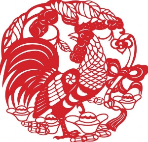 rooster, chinese new year