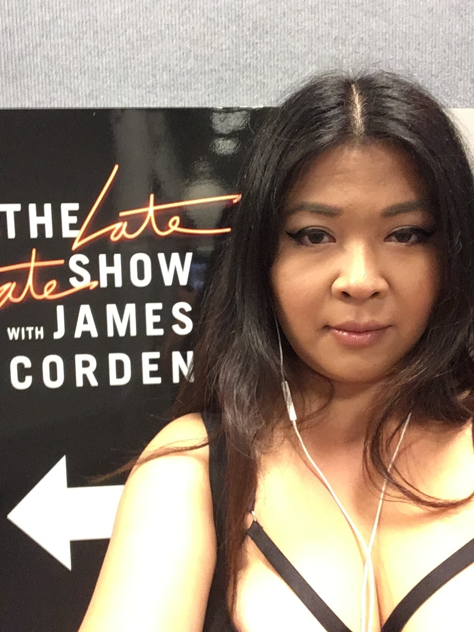 Backstage at Late Late Show with James Corden!
