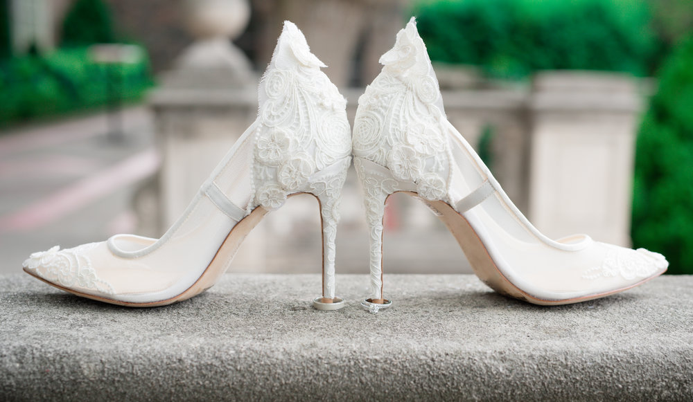 Toronto Wedding Photographer Shoes and rings