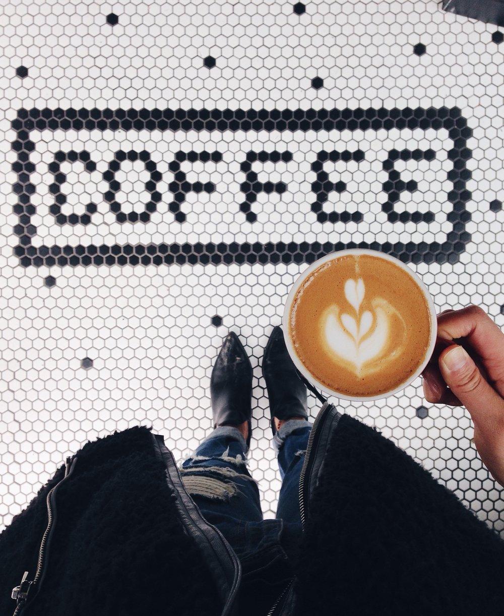 Coffee by a social media photographer