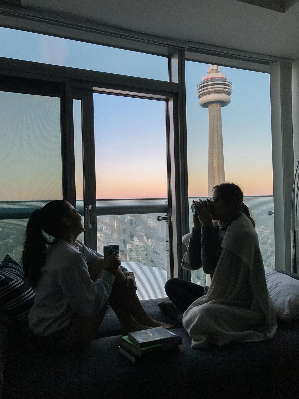 Airbnb by CN tower by a social media photographer